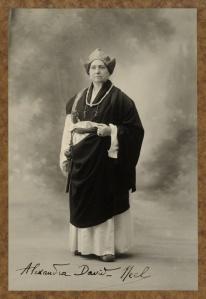 Alexandra David-Néel.  Image from Wikipedia.